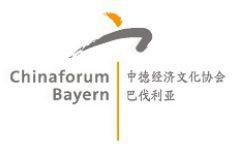 ti communication vermittelt als neues Mitglied im Chinaforum Bayern e.V. relevantes Know-how zu China