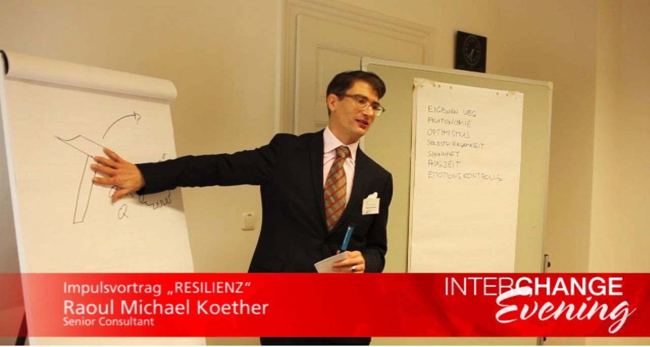 "Das Video zum ersten INTERCHANGE Evening ""Resilienz"""