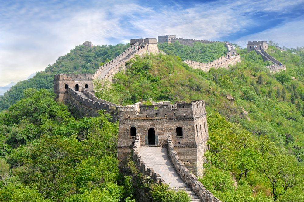 China---Great-Wall-of-China-in-Summer