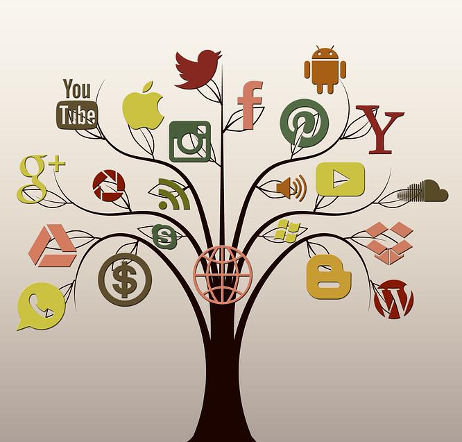 Social-Media-Baum
