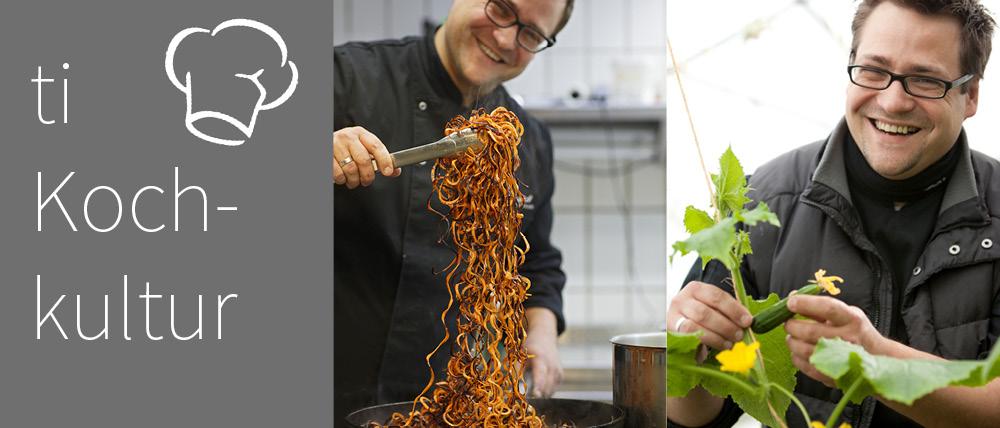 Über den Tellerrand kochen - tiKochkultur mit Christoph Hauser