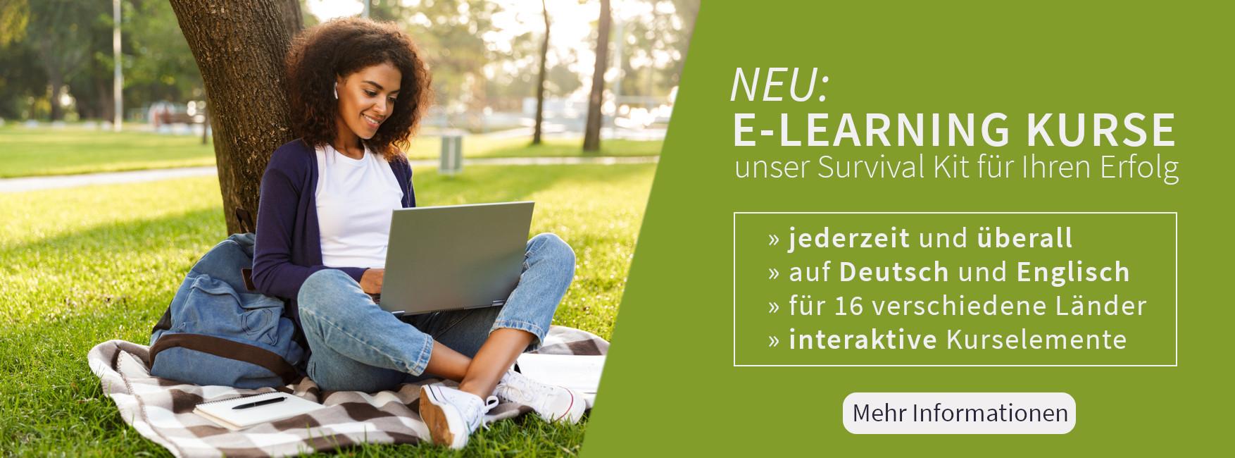 Unsere neuen E-Learning Kurse sind online